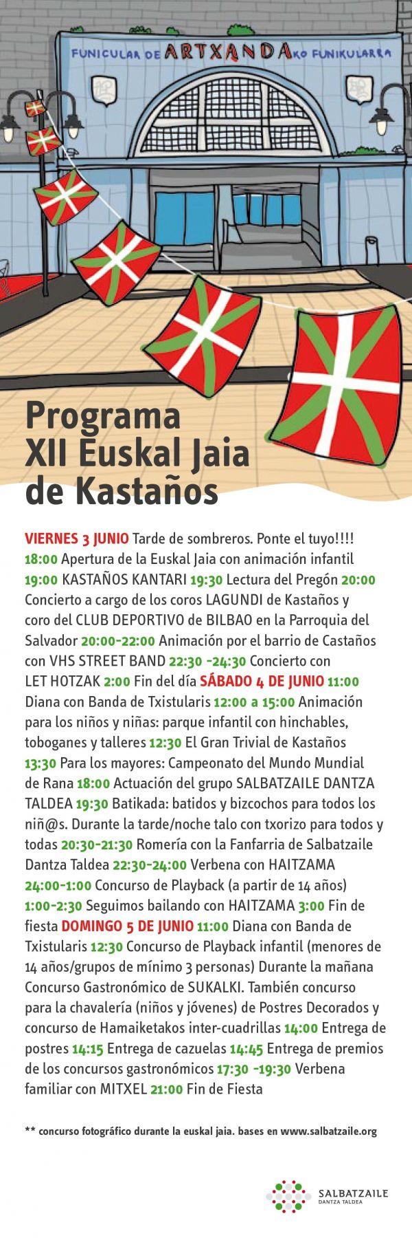 Seguir leyendo:Programa Euskal Jaia 2016